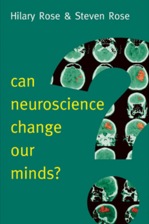 Cover of Can neuroscience change our minds