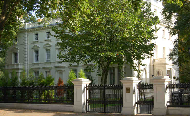 Russian Embassy in London. Photo: Wikipedia