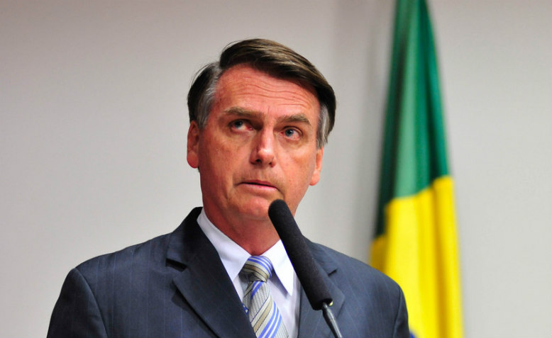 Hard right presidential candidate Jair Bolsonaro, 3 September 2014. Photo: Wikimedia Commons