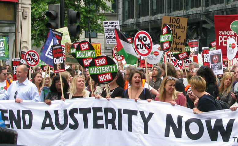 End Austerity Now. Photo: Wikipedia