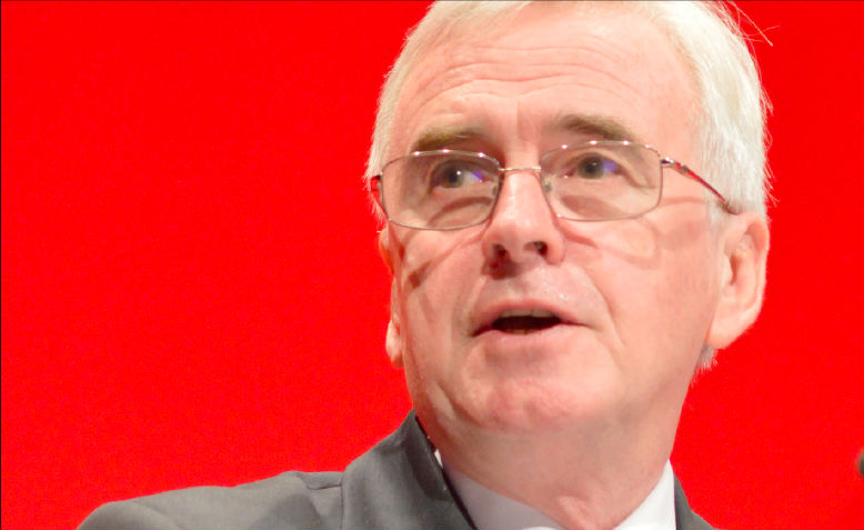 John McDonnell, Preston, February 2018. Photo: Wikimedia Commons
