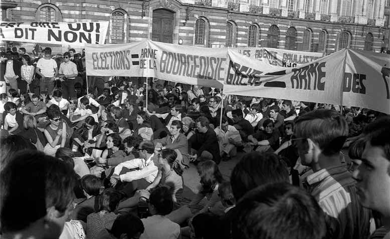 Demonstration in Toulouse, June 1968. Photo: Wikimedia Commons