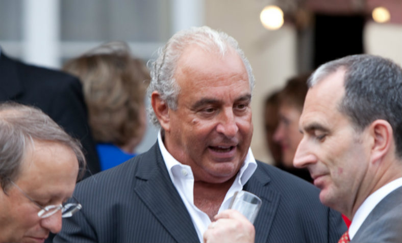 Philip Green at the Financial Times summer party, 28 June 2011. Photo: Flickr/Financial Times