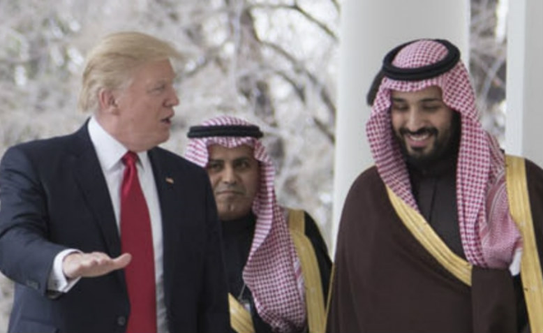 Trump and Mohammed bin Salman 2017. Photo: Wikimedia Commons
