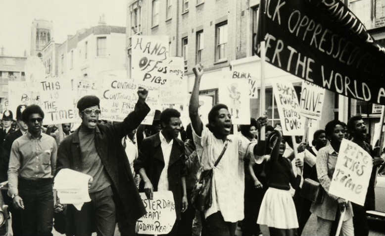 March in Notting Hill against racist police harassment, 1970. Photo: UK National Archives