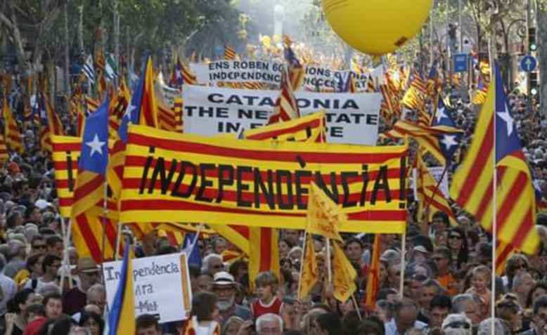 Catalan independence demo. Photo: wikimedia commons