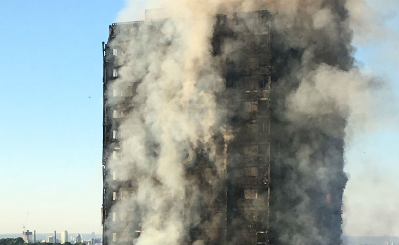 Grenfell tower fire. Photo: Wikimedia Commons
