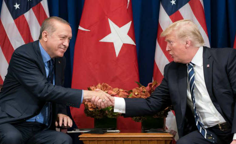 Trump and Erdogan. Photo: Wikimedia Commons