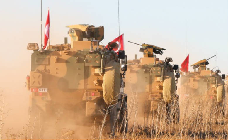 Turkish military in Syria, 2018. Photo: Wikimedia Commons