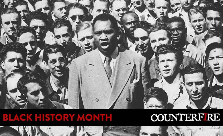 Paul Robeson 1942. Photo: U.S. National Archives and Records Administration / Wikimedia Commons / Public Domain