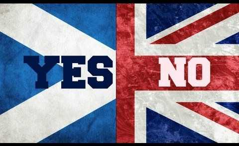 Scottish independence referendum. Photo: Unison