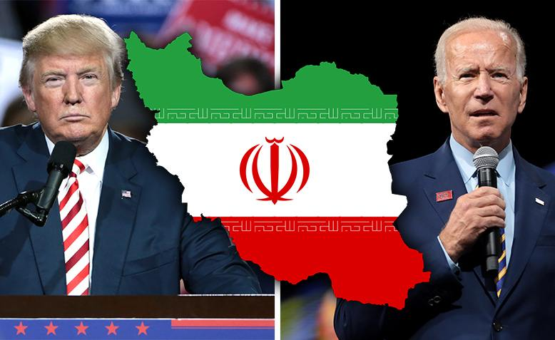 Trump, Biden and Iran. Photos: Gage Skidmore / edited by Shabbir Lakha / CC BY-SA 2.0, license linked at bottom of article