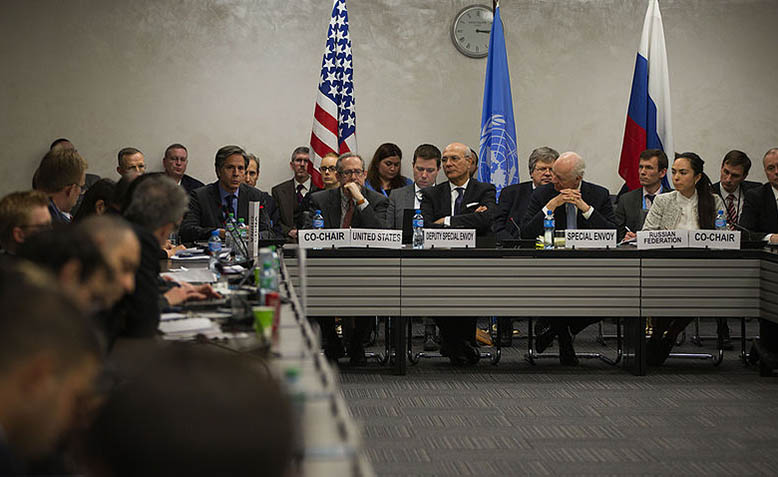 ISSG Ceasefire Task Force meeting earlier this year. Photo: Eric Bridiers