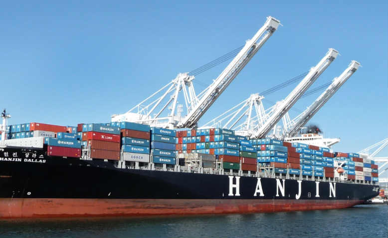Hanjin container ship, 2016. Photo: Wikipedia
