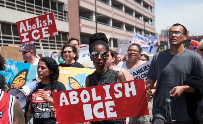 Abolish ICE day of action, Minnesota, March 2018