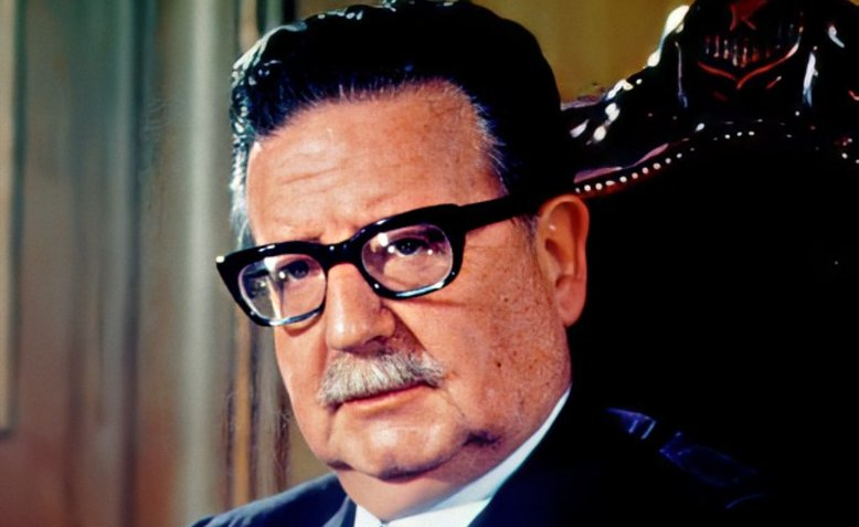 Salvador Allende. Photo: Biblioteca del Congreso Nacional de Chile / Wikimedia Commons / cropped from original / CC BY 3.0 Chile, licence and original photo linked at bottom of article