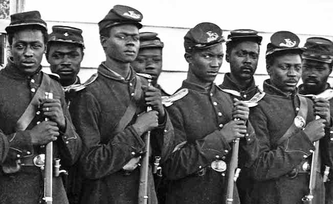 Black Confederate soldiers