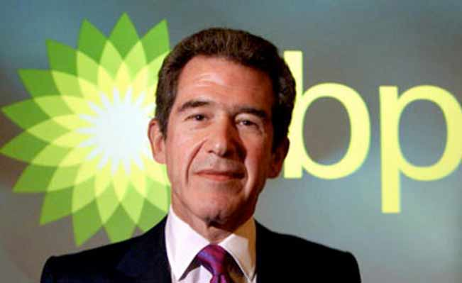 Former BP chief executive Browne