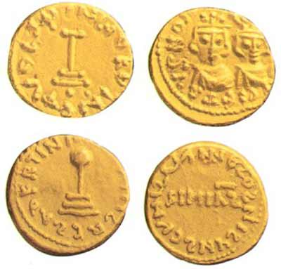 Early Umayyad coins