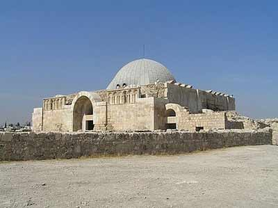 Umayyad palace in Amman