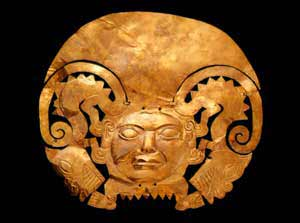 Inca gold ornament