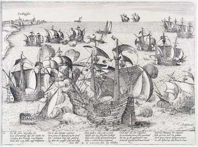 16th century Holland - where water and revolution went together