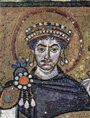 The 6th century Byzantine emperor Justinian