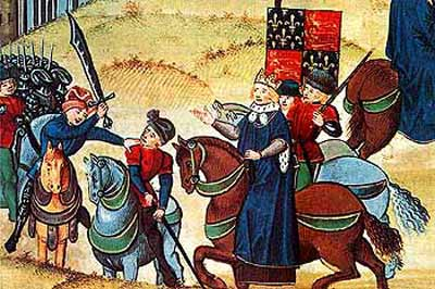 Lord Mayor of London assassinates Wat Tyler, leader of the English Peasants Revolt of 1381