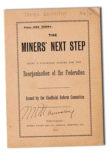 The Miners Next Step