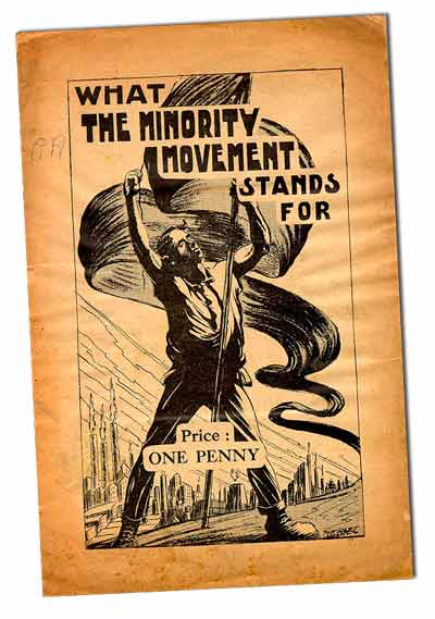 Minority Movement Pamphlet