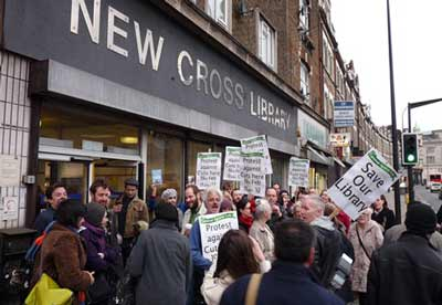 New Cross Library occupation