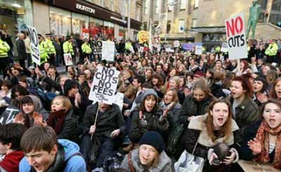 Strathclyde students occupy