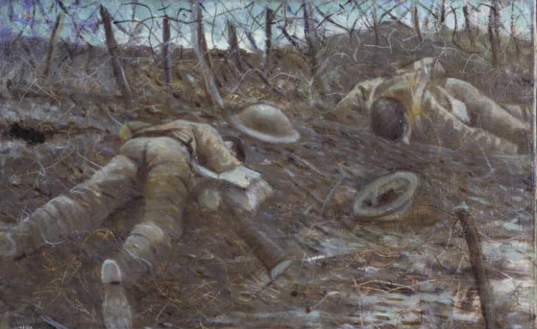Paths to Glory, Christopher Nevinson, 1917. Photo: Wikimedia Commons