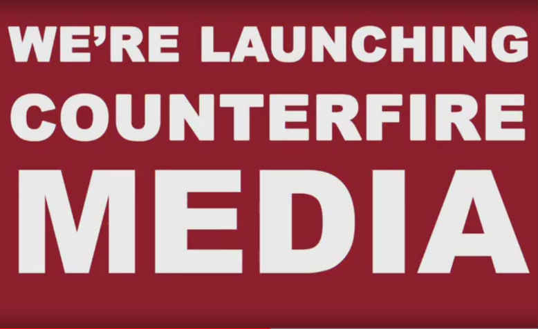 We're launching Counterfire media. Photo: Counterfire