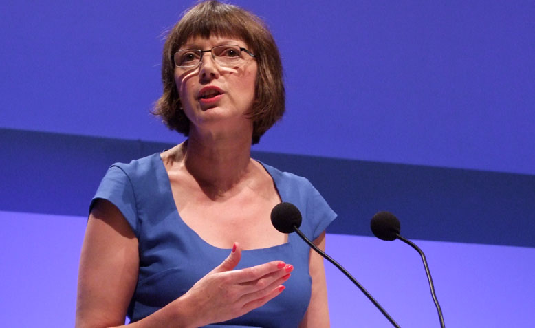 Frances O'Grady at TUC Congress 2018. Photo: Wikipedia