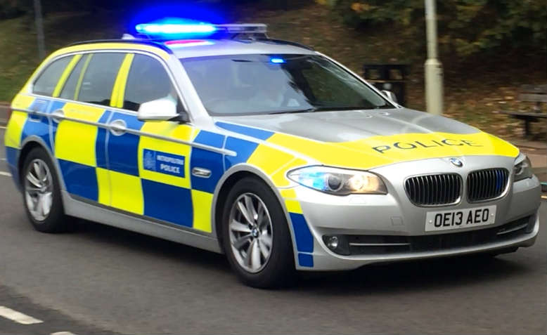 Metropolitan Police car. Photo: Wikimedia Commons
