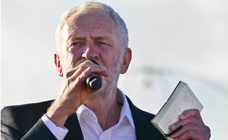 Jeremy Corbyn. Photo: Wikimedia Commons