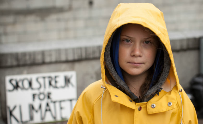 Greta Thunberg, school strike for climate. Photo: Wikimedia Commons