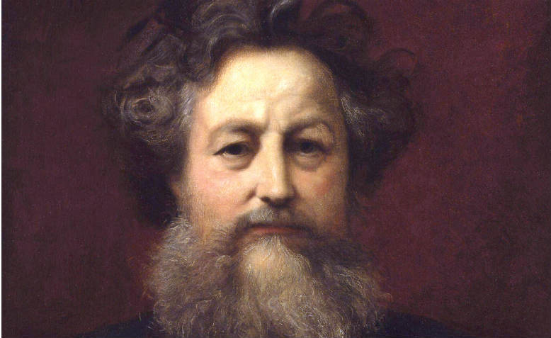 Portrait of William Morris by William Blake Richmond. Portrait of William Morris by William Blake Richmond. Photo: Wikimedia Commons