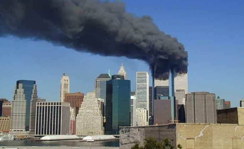 World Trade Centre, 9/11. Photo: wikimedia commons