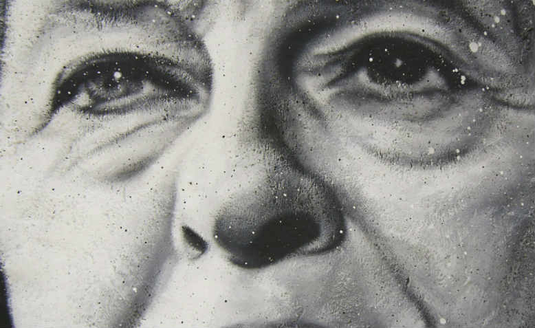 Theresa May by Thierry Ehrmann, 2016 (detail)