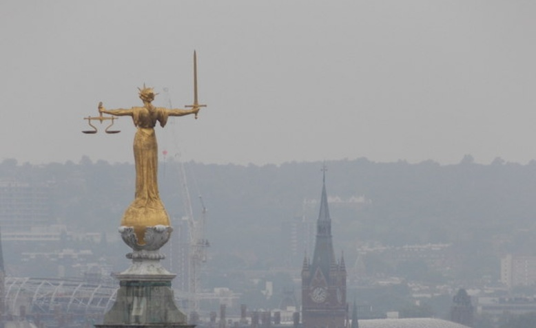 Lady Justice, Old Bailey