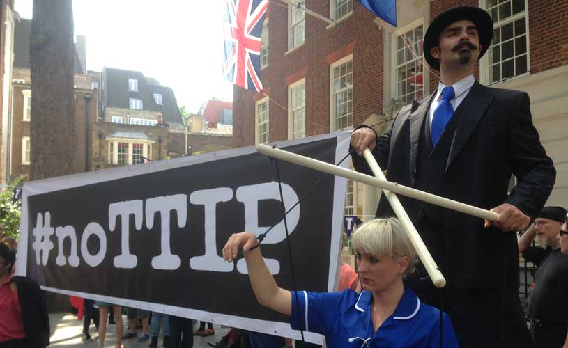 TTIP day of protest