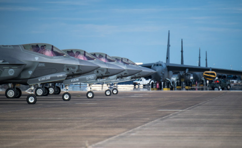 F-35 Lightning aircraft from Eglin Air Force Base. Photo: US Air Force