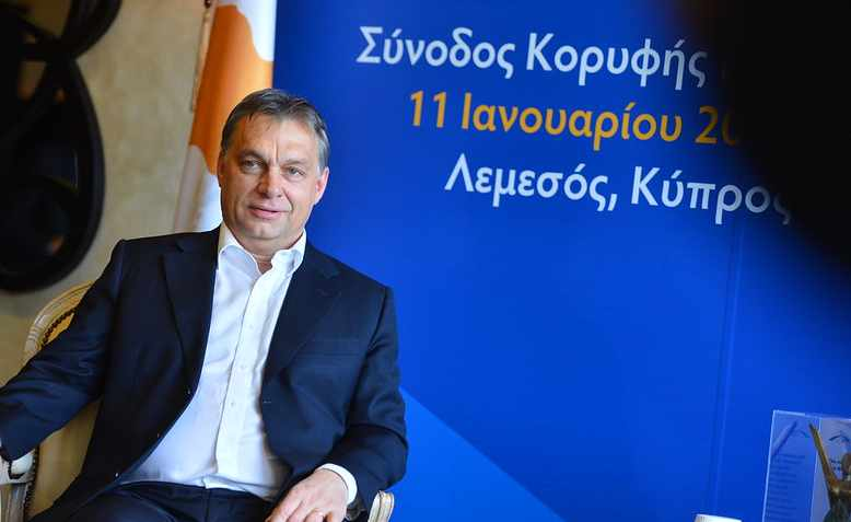 Viktor Orbán in 2013. Photo: Flickr/European People's Party