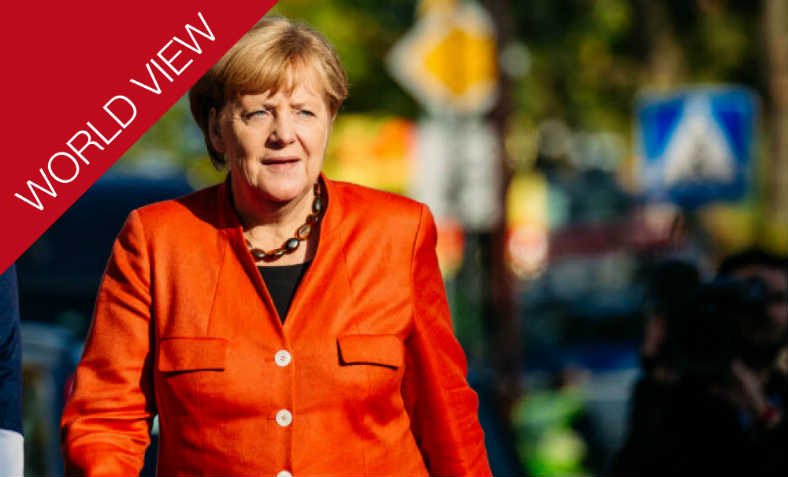 Angela Merkel's resignation. Photo: World View