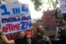 University of Bristol students march for mental health services