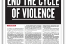 End the cycle of violence: Counterfire Freesheet November 2015