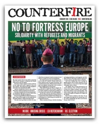 No to Fortress Europe: Counterfire Freesheet February 2016