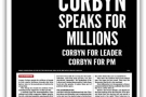 Corbyn speaks for millions: Counterfire freesheet August 2016